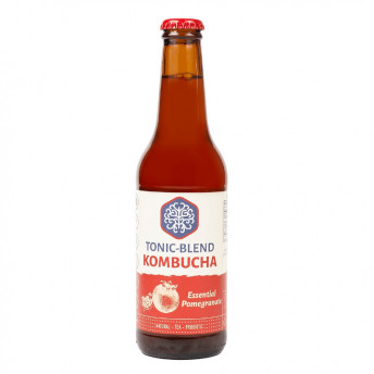 Kombucha - Essential Pomegranate, 330 ml, Tonic-Blend