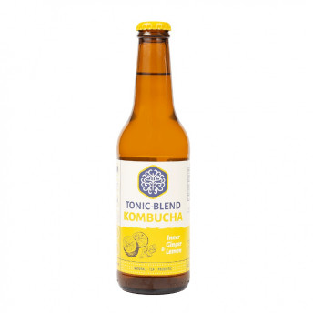 Kombucha - Inner Ginger-Lemon, 330 ml, Tonic-Blend