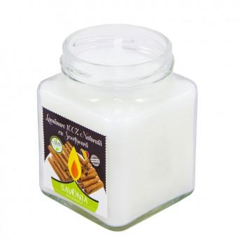 Scortisoara - Lumanare 100% Naturala 200 g, Savonia