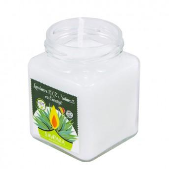 Eucalipt - Lumanare 100% Naturala 200 g, Savonia