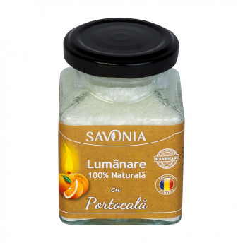 Portocala - Lumanare 100% Naturala