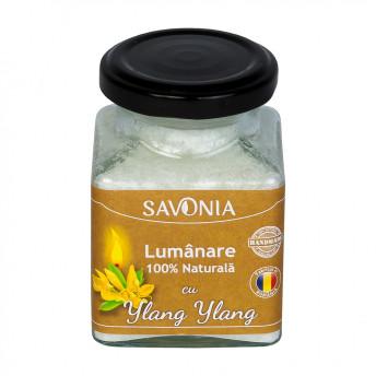 Ylang Ylang - Lumanare 100% Naturala 200 g, Savonia