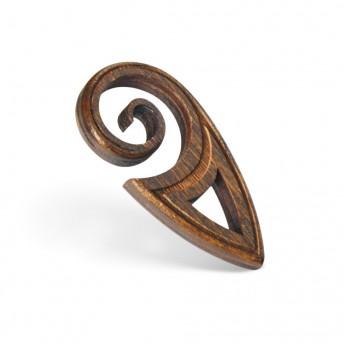 Amuleta din Lemn – The Maori Koru, Maro