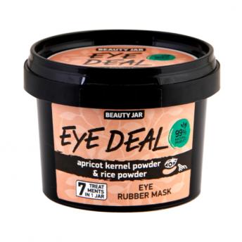Masca alginata pentru ochi cu pudra din sambure de caisa, Eye Deal, Beauty Jar, 15 g