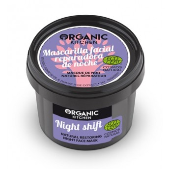 Masca de noapte reparatoare cu primula, Night Shift -  Organic Kitchen