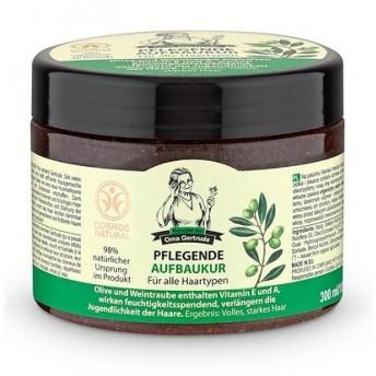 Masca de par nutritiva reparatoare cu ulei de struguri si masline, 300 ml - Oma Gertrude