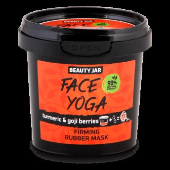 Masca faciala alginata pentru fermitate, cu turmeric si goji, Face Yoga, Beauty Jar, 20 g