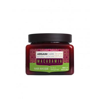Masca reparatoare cu ulei de macadamia pentru par uscat si deteriorat, Arganicare, 500 ml