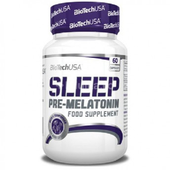 Melatonina - Sleep 60 cps Biotech USA