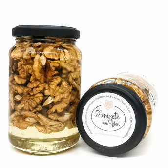 Miere de Salcam cu Nuci, 180 gr - Zumzete din Flori