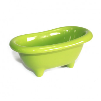 Mini cada de ceramica, verde