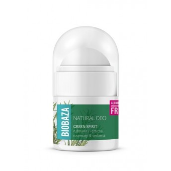 MINI Deodorant natural pentru femei GREEN SPIRIT, 20ml - BIOBAZA