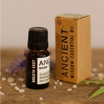Respiratie Usoara - Mix Uleiuri Esentiale Naturale Pure - 10 ml, Ancient Wisdom