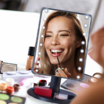 Oglinda Cosmetica Profesionala Dreptunghiulara cu Led