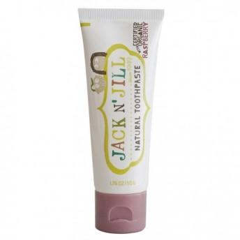 Pasta de dinti naturala pentru copii, zmeura organica - Jack n' Jill