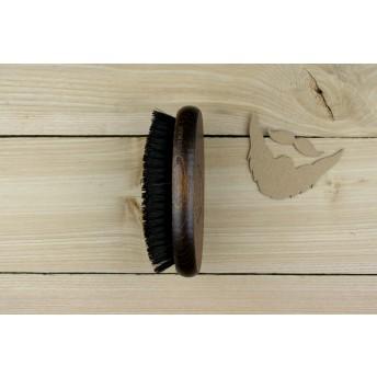 perie pentru barba lemn de fag