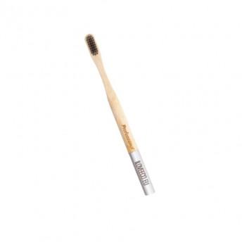 "Periuta de dinti ecologica, din bambus, model ""Professional"" (cu peri foarte moi)"