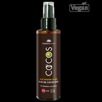 Ulei plaja COCOS SPF 6 cu ulei de cocos bio, 150 ml