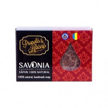 Sapun Natural Propolis si Hibiscus - Savonia