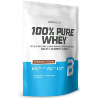Proteina pudra 100% Pure Whey 454gr Chocolate BiotechUSA