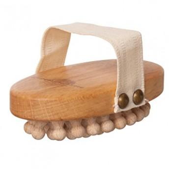 Perie anticelulitica, lemn fag, pini lemn de mar, fara maner