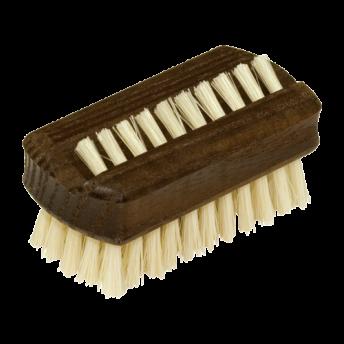 Mini perie maini si unghii,lemn frasin termic, peri sisal