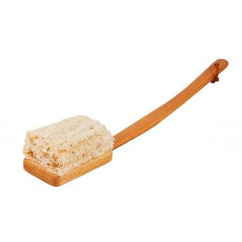 Burete lufa, maner lemn de fag