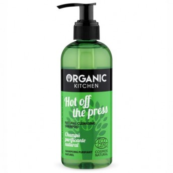 Sampon purificator cu menta Hot Off The Press - Organic Kitchen