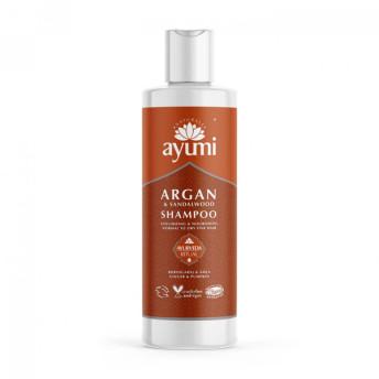 Sampon cu Ulei de Argan & Lemn de Santal pentru parul fragil si subtire, Ayumi, 250 ml