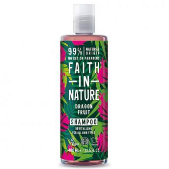 Sampon natural revitalizant cu Fructul Dragonului, pentru toate tipurile de par, Faith in Nature, 400 ml