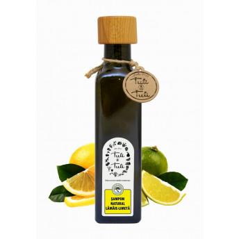 Sampon Natural cu Lamaie si Limeta, 250 ml, Tuli a Tuli