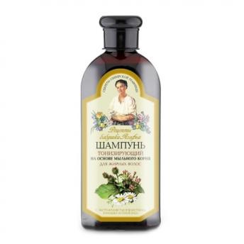 Sampon tonifiant pentru par gras, 350 ml, Bunica Agafia