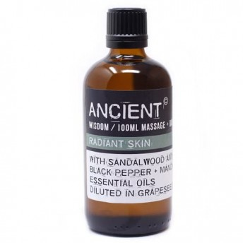 Ulei pentru masaj Radiant Skin, 100 ml, Ancient Wisdom