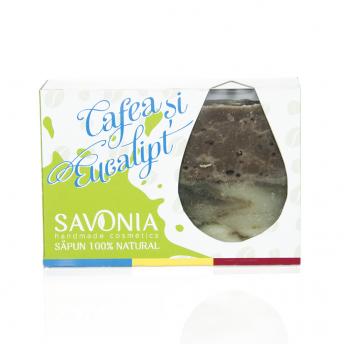 Sapun Natural Cafea si Eucalipt