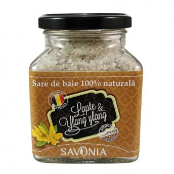 Sare de Baie Savonia cu Lapte si Ylang Ylang