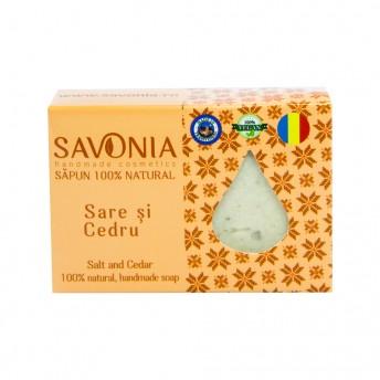 Sapun Natural Sare si Cedru Savonia