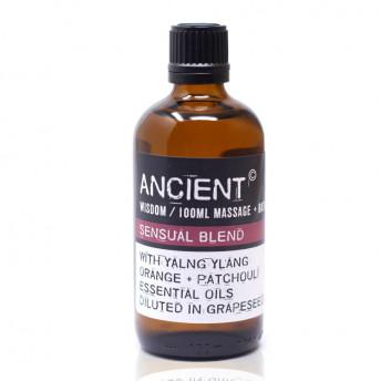 Ulei pentru masaj Sensual, 100 ml, Ancient Wisdom