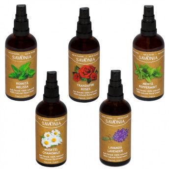Set 5 Ape Florale Organice Savonia