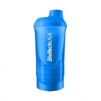 Shaker Wave Blue 600ml Biotech USA