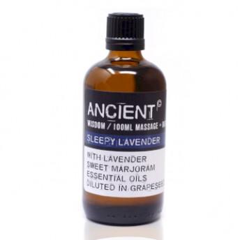 Ulei pentru masaj Sleepy Lavender, 100 ml, Ancient Wisdom