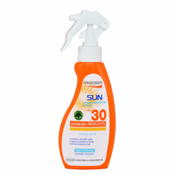 Spray cu protectie solara FPS 30 Natural Sun, 200 ml, Gerocossen