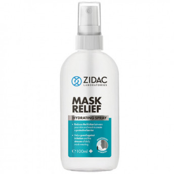 Spray hidratant natural impotriva iritatiei cauzate de masca, Zidac Laboratories, 100 ml