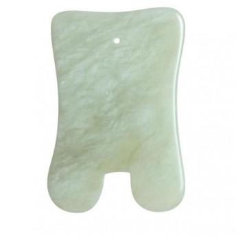 Piatra Gua Sha din Jad pentru masaj - 7,2cm