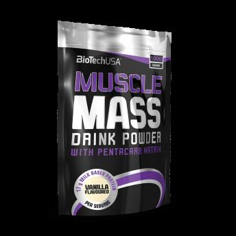 Supliment - Muscle Mass 1000gr Chocolate BiotechUSA