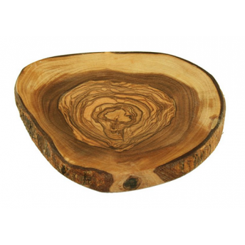 Suport Pahare Rustic, din Lemn de Maslin, 9 cm (pret/buc)