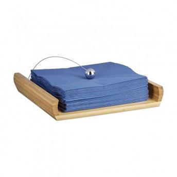 Suport Servetele din Lemn de Bambus