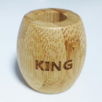 Suport Bambus periuta de dinti - KING