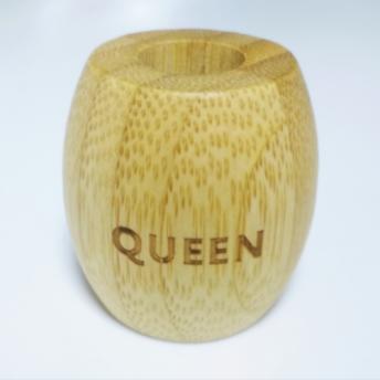 Suport Bambus periuta de dinti - QUEEN