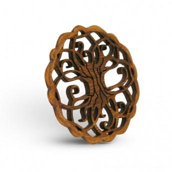 Amuleta din Lemn - The Tree of Life, Maro