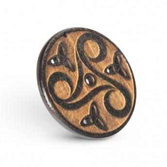Amuleta din Lemn - Triskelion M1, Maro